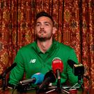 Eye on the ball: Craig Gordon is focused on Dundee clash