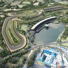 An artist's impression of the new Lake Torrent motorsport track