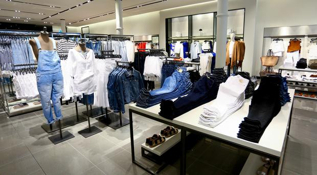 The interior of Zara on Belfast's Donegall Place. Photo: Kevin Scott/Belfast Telegraph