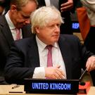 Foreign Secretary Boris Johnson hit the headlines following his weekend article