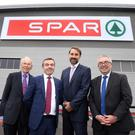 John Agnew, Geoffrey Agnew - Joint Chairman and MD Henderson Group, Tobias Wasmuht - MD SPAR International and Martin Agnew - Joint Chairman and MD Henderson Group