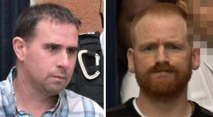 Darren Poleon, 43, and Brian Walsh, 35, both from Co Meath in the Republic of Ireland, were handed a 10-year sentence. Walsh pic BBC