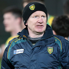 Big challenge: Declan Bonner will lead Donegal. Photo: John McVitty/Presseye