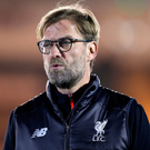 Keeping cool: Jurgen Klopp won't hit the panic button after Liverpool's recent struggles