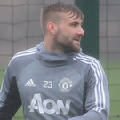 Injury woes: Manchester United full back Luke Shaw