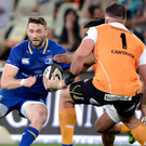 Inspirational: Barry Daly attempts to drive Leinster forward