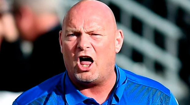 Ballymena United manager David Jeffrey