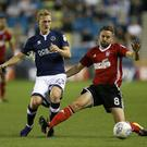 George Saville of Millwall has been called up to the latest NI squad. Photo by James Chance/Getty Images
