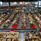 An Amazon factory in England. The company has just bought Whole Foods for £10.1bn. Photo: Chris Radburn/PA