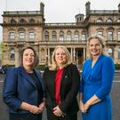 From left: The Bank of England's Frances Hill, Clodagh Hegarty, chair of ACCA Ulster Member's Network, and Liz Hughes, head of ACCA Ireland and mainland Europe
