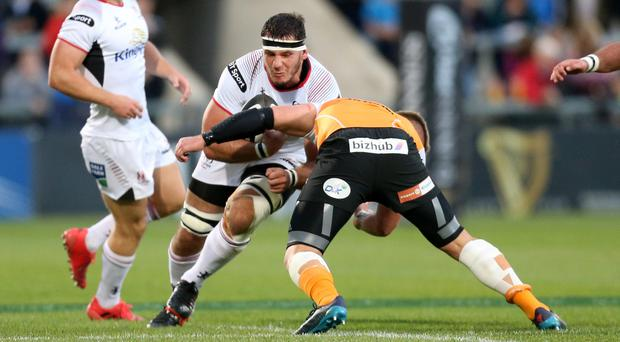 Ulster's Marcell Coetzee has not featured since the win over the Cheetahs.