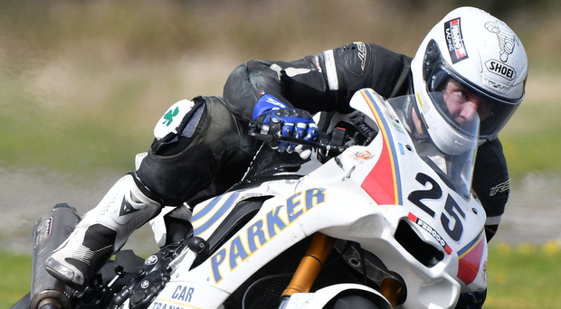 Playing catch-up: Ballycastle ace Charles Stuart is 48 points behind but can still clinch Superbike glory with some big displays