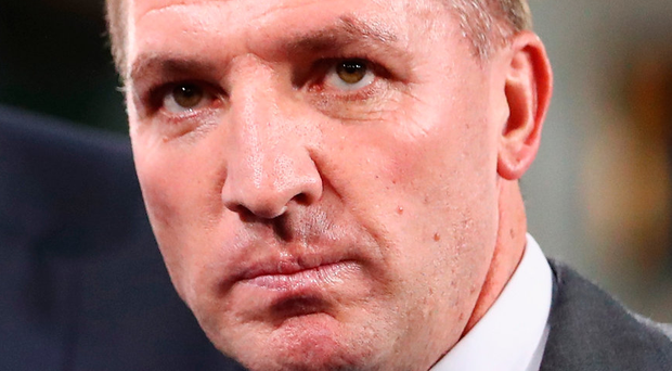Celtic manager Brendan Rodgers'