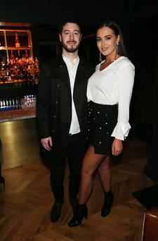 Niall Foster and Rebecca Maguire pictured at the launch of The Doyen, Wine Inns' latest venture on Belfast's Lisburn Road. Photo by Kelvin Boyes / Press Eye