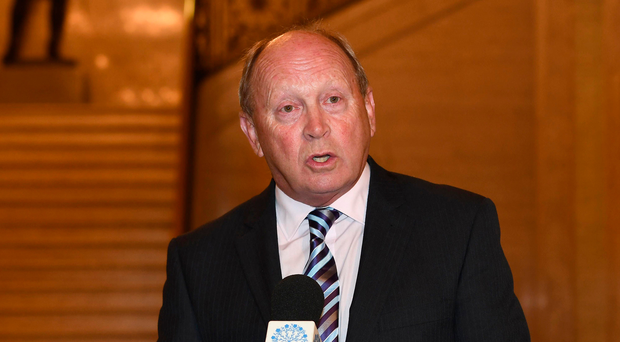 TUV leader Jim Allister has hit out at Sinn Fein for involving pupils in its demonstration at Stormont in support of an Irish Language Act