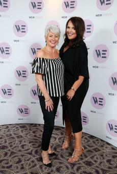 TV Personality Pamela Ballantine and Sarah Weir, Director of Weir Events. Picture by Kelvin Boyes