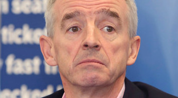 Under fire: Michael O'Leary