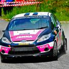 Girl power: Jenna McCann made history by clinching the Irish Tarmac Championship junior division crown