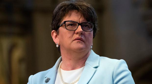 Arlene Foster. (Photo by Carl Court/Getty Images)