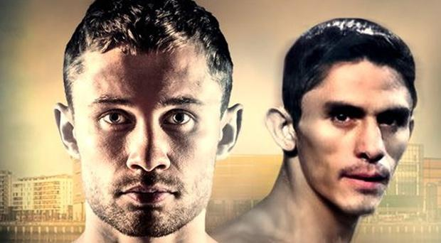 Carl Frampton will fight Mexican Horacio Garcia in his November homecoming bout.