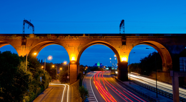 Graham Construction is carrying out major infrastructure work in Stockport