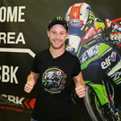 Thumbs up: Jonathan Rea became the first person to win three WSB titles in a row