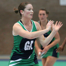 Familiar face: Oonagh McCullough is back in action