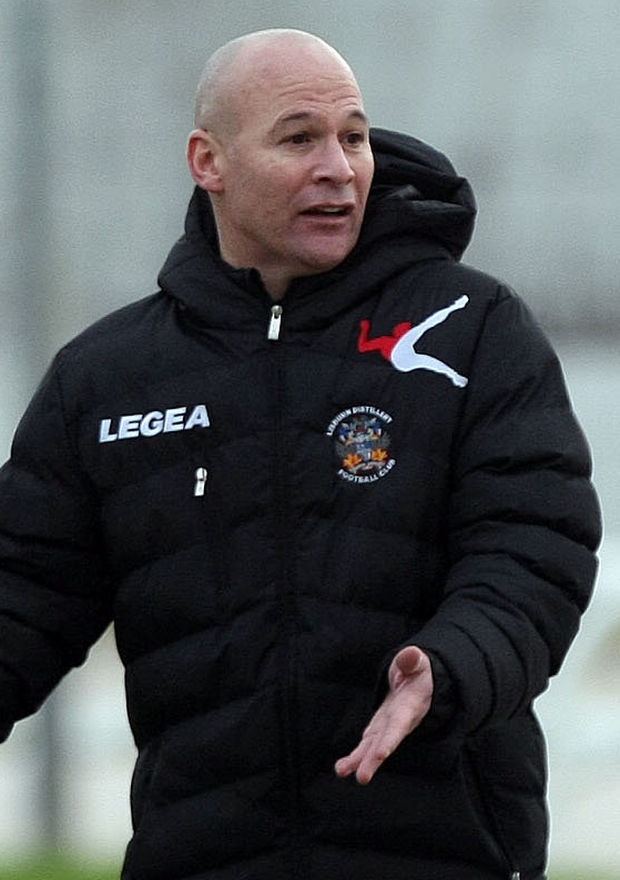 George O'Boyle now co-manager with Colin McIlwaine at Lisburn Distillery