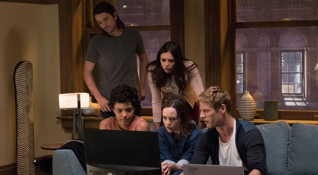 Doctor in the house: Diego Luna as Ray, Kiersey Clemons as Sophia, Nina Dobrev as Marlo, Ellen Page as Courtney and James Norton as Jamie