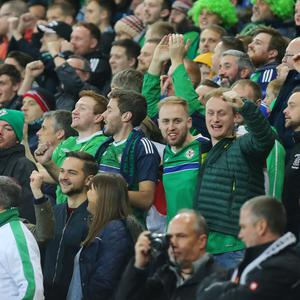 Northern Ireland fans are preparing to descend on Basel. Picture by Jonathan Porter/PressEye.com