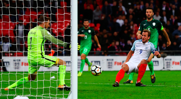 Russian envoy: Harry Kane pounces to book England's ticket to the World Cup