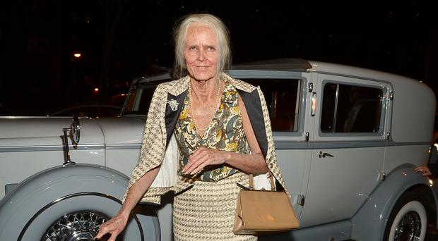 Heidi Klum as a granny (Photo by Mike Coppola/Getty Images for Heidi Klum)