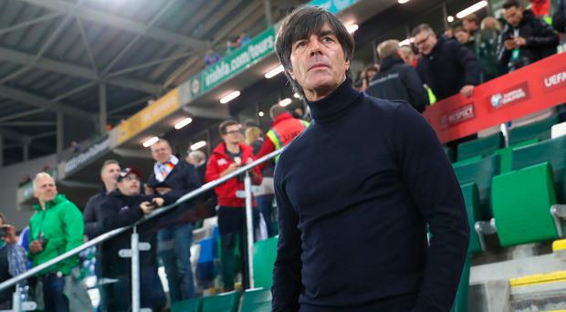 Hugely impressed: Joachim Low at the National Stadium. Photo: Getty Images