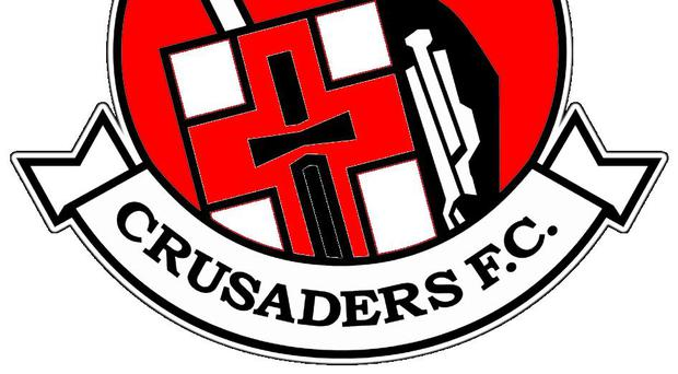 Crusaders FC have paid tribute to a life long fan who passed away during their Cup game in Scotland on Friday.