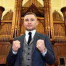 Frampton believes Garcia will really test him in his return to the ring.