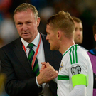 Michael O'Neill and Steve Davis