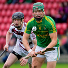 Man on: Slaughtneil's Brendan Rodgers closes in on Dunloy's Kevin McKeague