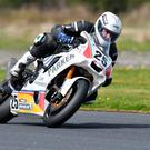 Just champion: Charles Stuart claimed the Irish Superbike title