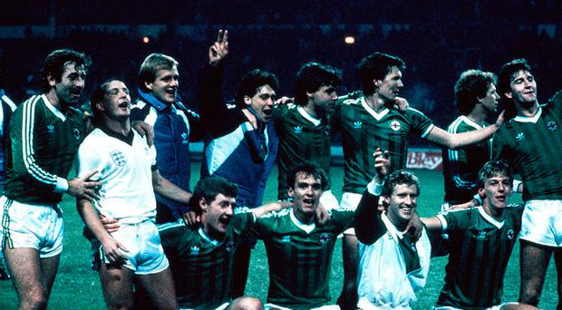 Glory boys: the Northern Ireland side that held England to qualify for the 1986 World Cup