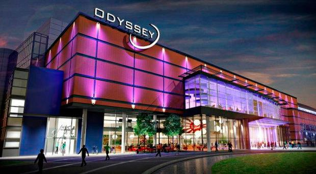 An artist's impression of how the Odyssey Pavilion could look