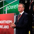 A two-legged tie stands between Michael O'Neill's Northern Ireland and a place in Russia
