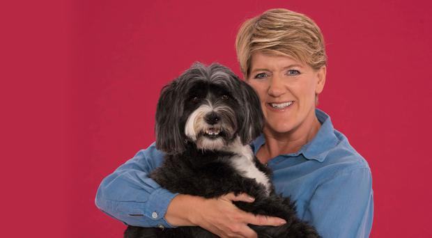 Book lover: Clare Balding