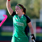 Waving farewell: Shirley McCay will end her Ireland career on the world stage
