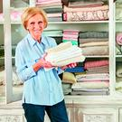 Cupboard love: Mary Berry loves to tidy up
