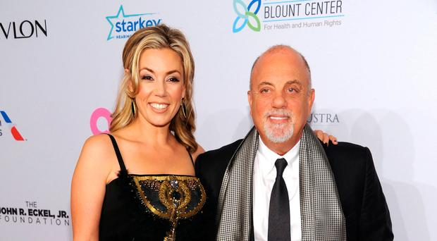 Billy Joel with his current wife Alexis Roderick