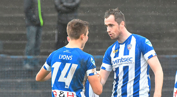 Cool head: David Ogilby isn't getting carried away by Coleraine's impressive start to the campaign