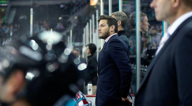 Fired up: Adam Keefe wants to see improvement from Giants