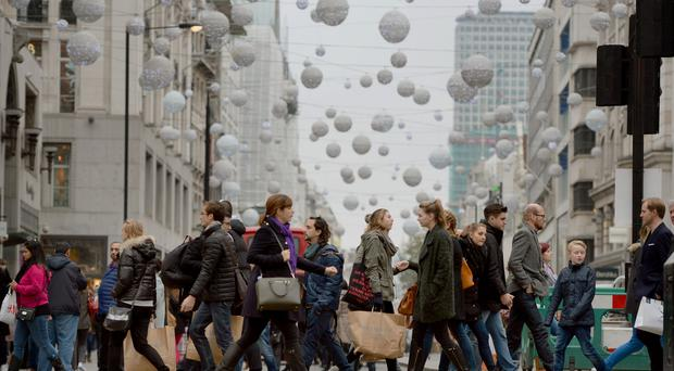 'Visits to high streets and retail parks declined most sharply at 6.1% - the worst fall anywhere in the UK, according to the report from the NI Retail Consortium and research body Springboard' (stock photo)