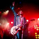 Justin Hawkins of The Darkness on stage at the Limelight, Belfast. Sunday 15th October 2017 Liam McBurney/RAZORPIX