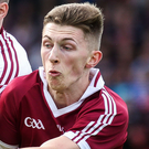 Seeing red: Slaughtneil's Paul McNeill was sent off on Sunday